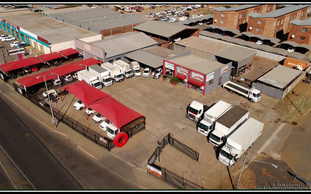 Latest aerial photograph of Wolff Logistics